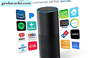 Hoe Amazon Echo te integreren met uw Smart TV