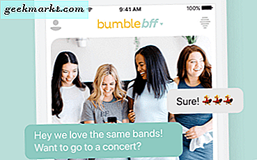 Hoe te schakelen tussen BFF en dating-modes in Bumble