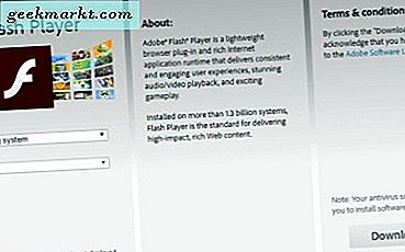 Sådan aktiveres Flash i Google Chrome