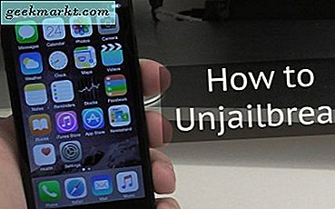 Slik Unjailbreak en iPhone