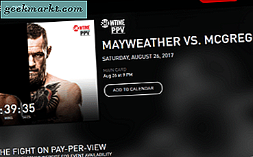 Sådan Watch Mayweather McGregor Fight Online Gratis med Kodi