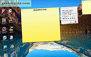 Slik legger du til Sticky Notes til Windows 10