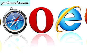 Store alternativer til Internet Explorer til Windows 10